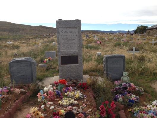 Sacajawea's gravesite