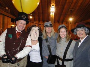 Authors Jamie Ford, Poe - Karen, and outlaw sisters, and