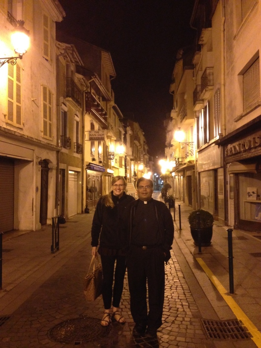 Love the narrow, quiet streets. Me and My husband, Bishop Leo Michael