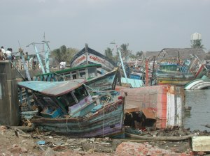 2004 Nagapattinam Harbor
