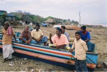 Nambiar Nagar boatmen discouraged, not wanting to go back to the sea. Boats are all destroyed
